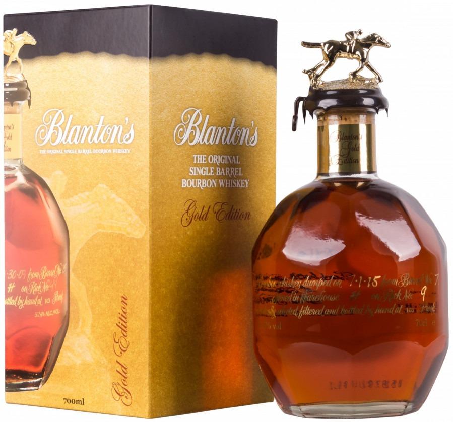 Blanton's Gold Edition Bourbon 103 Proof Single Barrel Bourbon
