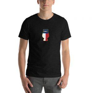 NC Whiskey Logo Short-Sleeve Unisex T-Shirt