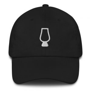 Whiskey Nosing Glass Dad Hat