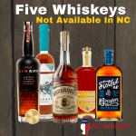 5 Whiskeys You Won't Find in NC, Holiday Edition